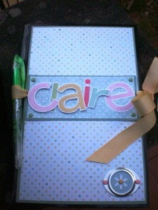 Claire's journal